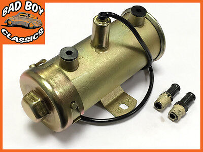 12v Powermax High Flow Electronic Fuel Pump Ideal For All Classic Cars