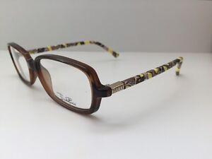 NEW Emilio Pucci EP2636 Eyeglass Frame 241 Walnut 53.14.135
