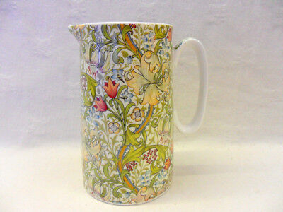 William Morris golden lilly small jug by the Abbeydale Collection