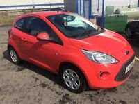 FORD KA EDGE (red) 2010