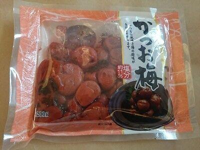 Japanese UMEBOSHI Bonito 130g pack FromJapan Umezuke pickled ume salt plum