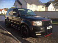 *** Range Rover sport 56 plate swap px car van ****