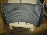 Radiator and exhaust for 2006 CBR 600 RR Motorcycle
