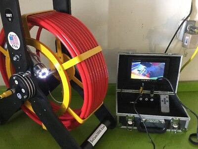 Built In Camera - Built-in 512hz Sonde Transmitter 100FT Sewer Camera  For Pipe Inspection