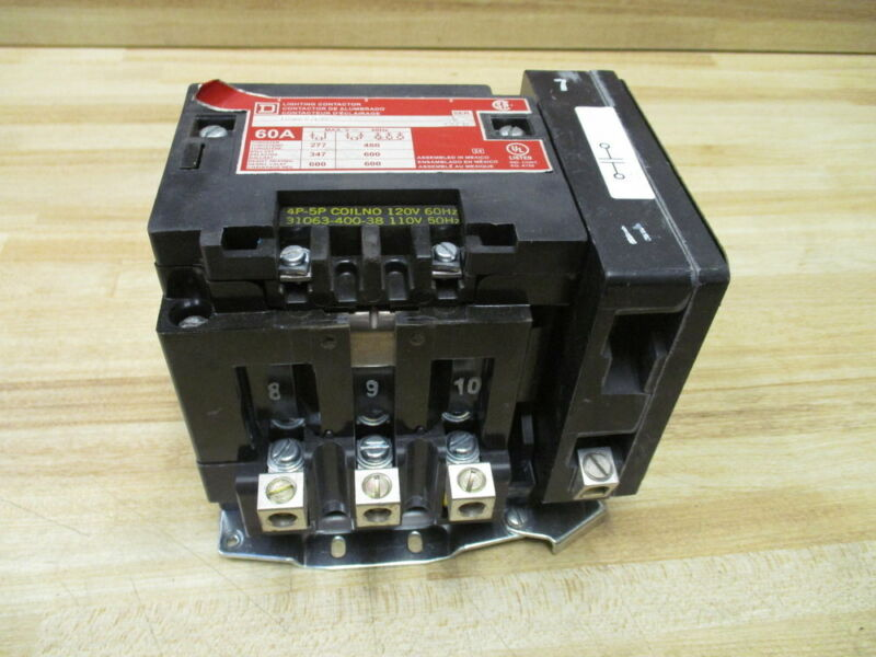 Square D 8903SP03 60 AMP Lighting Contactor