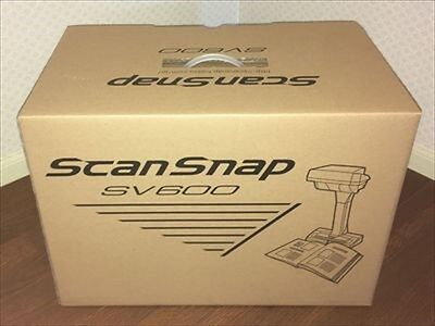 F/S ScanSnap SV600 Fujitsu FI-SV600A-P Contactless A3 Size Scanner from Japan