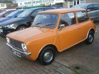 Austin Mini Auto Petrol CLUBMAN AUTOMATIC 22000 MILES ONLY Bei (beige) 1974