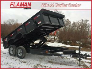 2016 Diamond C 21WD Dump Trailer
