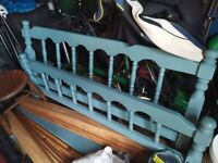 Free Standard Double Pine bedframe (painted)