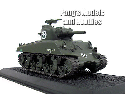 M4 Sherman Tank 1/72 Scale Diecast Model by Amercom for sale  Shipping to Canada