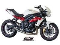 Street triple 2013-2016 r or rx sc project exhaust +4.8hp