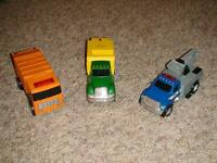 Tonka Toughest Minis Cherry Picker, Sweeper & Garbage Truck