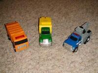 Tonka Toughest Minis Cherry Picker, Sweeper & Garbage Truck