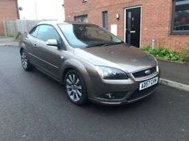 Ford Focus coupe / cabriolet fully service history automatic cheap car