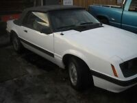 1985 Ford Mustang  LXConvertible HO  5 lire  auto
