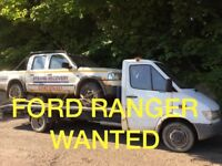 WANTED!!! FORD RANGER JEEP ANY CONDITION