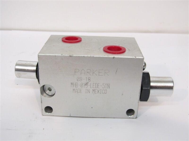 Parker MHB-015-LEDE-51N, Standard Pilot Assisted Load Control Valve
