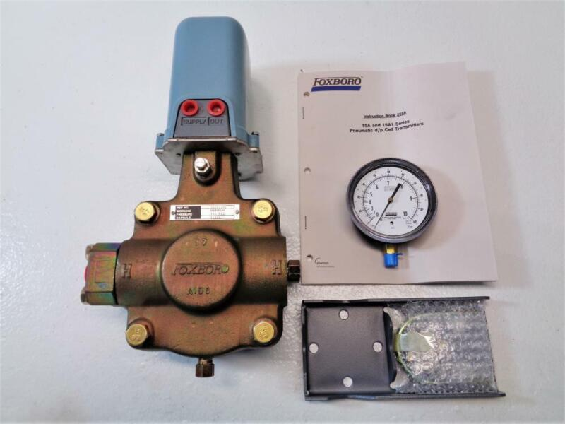 Foxboro D/P Cell Differential Pressure Transmitter 15A1-LK2