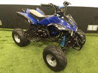 BRAND NEW & IN STOCK - 125cc INTERCEPTOR QUAD BIKES - 4 STROKE - AUTO - RED/BLUE AVAILABLE