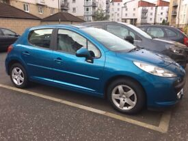 2007 Peugeot 207 1.4 petrol......1 OWNER FROM NEW ONLY 39000 miles