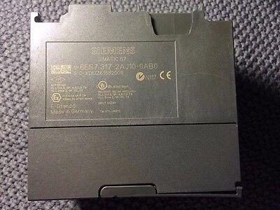 Siemens Cpu317- 2dp 6es7 317-2aj10-0ab0 Simatic S7 6es73172aj100ab0