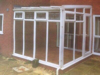 White Upvc Double Glazed Conservatory 2980mm X 2780mm