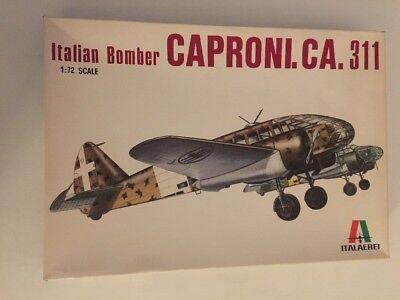 Italaerei Caproni CA.311 Italian Bomber 1/72 Scale Model 113 Unsealed
