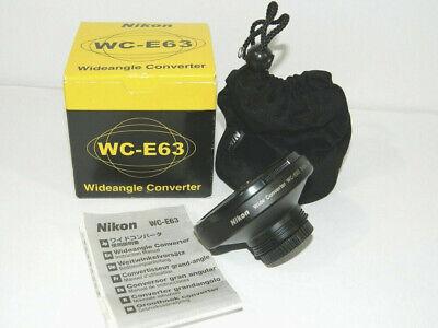 Obbiettivo grandangolare Nikon WC-E63 per Nikon Coolpix 990