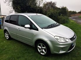 FORD C-MAX 1.6 Zetec, Full Dealer Service History, Excellent all round (silver) 2009