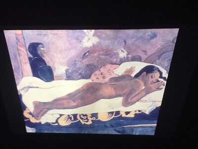 "Paul Gauguin ""Spirit Of Dead"" French Post-impressionism 35mm Art Slide"