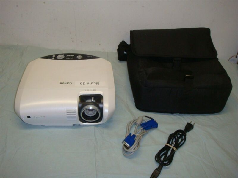 CANON LV-7275 2600 LUMEN HOME THEATER/PRESENTATION PROJECTOR -LOOK!
