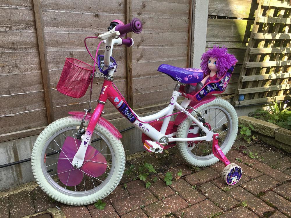 Raleigh Molli 16 Inch Wheel Girls Kids Childrens Bike Bicycle