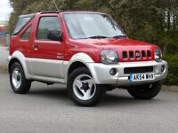 SUZUKI JIMNY O2 JLX SOFT TOP (red) 2004
