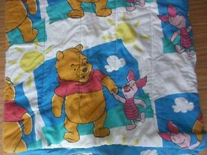 Winnie the Pooh double bed comforter,sheet  pillow case for sale Gatineau Ottawa / Gatineau Area image 2