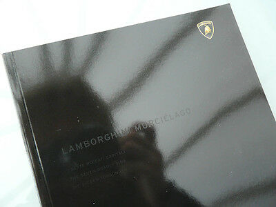Lamborghini Murcielago 6.2/580PS large A4 brochure 52p multilingual It/Fr/En/Gr