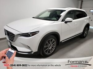 2018 Mazda CX-9 GT|Unlimited Mileage Warranty- Just arrived Htd