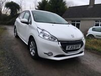 2013 Peugeot 208 Active FREE ROAD TAX Low Mileage