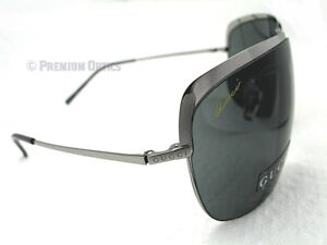 Oversized GUCCI Sunglasses GG2795 6LB Ruthenium / Grey