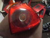 Vw Golf Mk5 Genuine Rear Drivers Side Light Complete Breaking Car