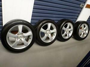 Mazda 3 alloy wheels - 16 inch with Michelin tyres Newtown Inner Sydney Preview