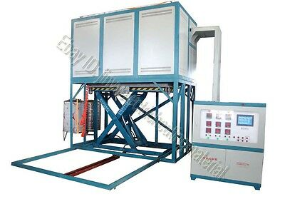 1750 Lifting Vacuum Atmosphere Furnace For Heating Treatment With Pid Control