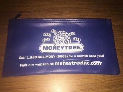 BANK BAG Money Tree Free Same Day Shipping Vinyl Banking Memorabilia NR
