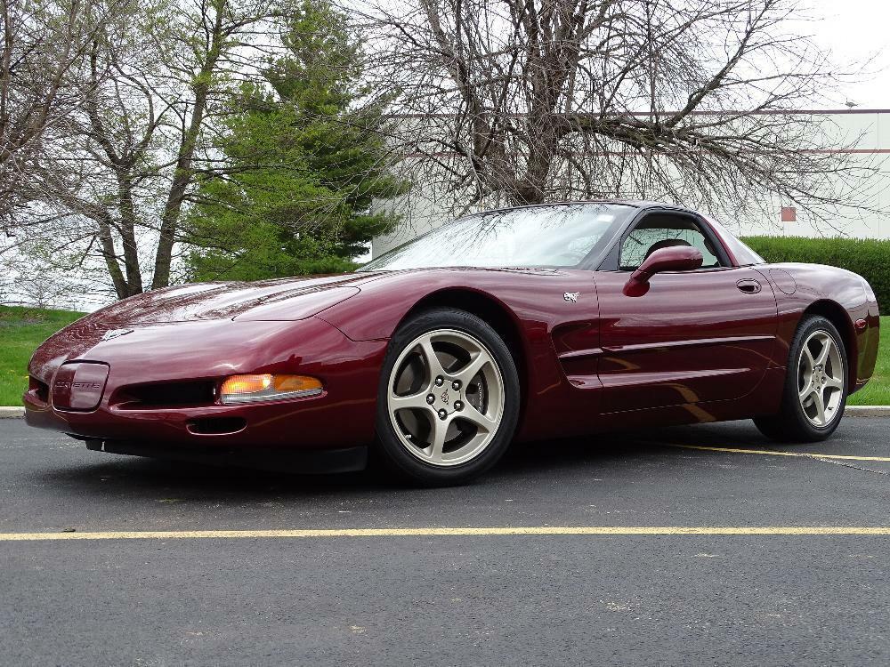 2003 Red Chevrolet Corvette     C5 Corvette Photo 4