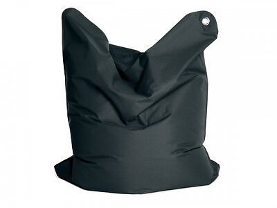 Sitzsack BASIC Markensitzsack 250 Liter 125x155 Kindersitzsack Anthrazit Grau