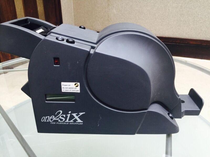 One2six Shuffler For Poker