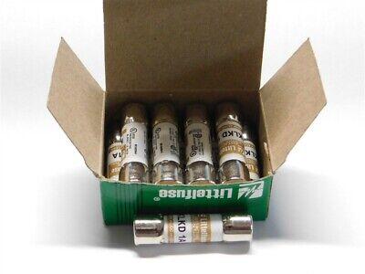 10 Littelfuse Klkd 1 1a 600v Midget Fuses New In Box