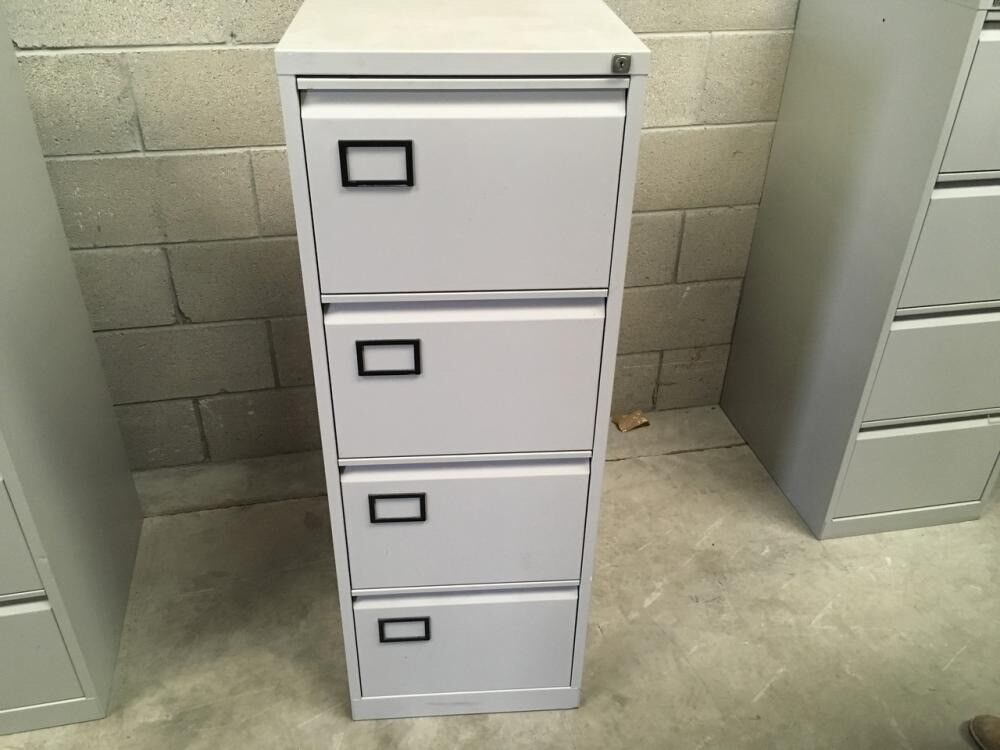 2nd Hand Filing Cabinets 4 Drawers Excellent Condition Office Or Home Storage