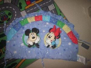 MICKEY MOUSE BUMPER PADS FOR CRIB