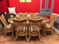 6 seat dining table and chairs cost £1500