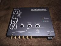 Audiocontrol 24XS, 2 Way Crossover/Line Driver. Orion,Vibe,Jl,alpine,jbl,fli,pioneer,kicker,kenwood
